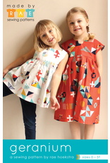 Made By Rae Made by Rae's Little Girl's Geranium Dress Pattern