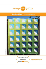 Orange Dot Quilts Boxing Play Quilt Pattern