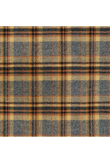 """Robert Kaufman Yarn Dyed Cotton Flannel, Mammoth Flannel in Maize, Fabric Half-Yards (ONE 27"""" CUT REMAINING)"""