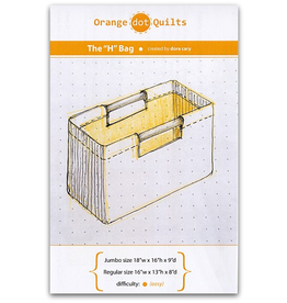 Orange Dot Quilts The H-Bag Pattern