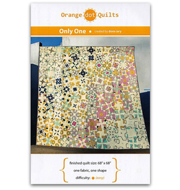 Orange Dot Quilts Only One Quilt Pattern