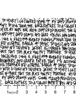PD's Carolyn Friedlander Collection Architextures, Scribble Notes in White, Dinner Napkin