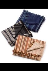 Robert Kaufman Yarn Dyed Cotton Flannel, Tamarack Stripes Flannel in Seaglass, Fabric Half-Yards SRKF-18223-333