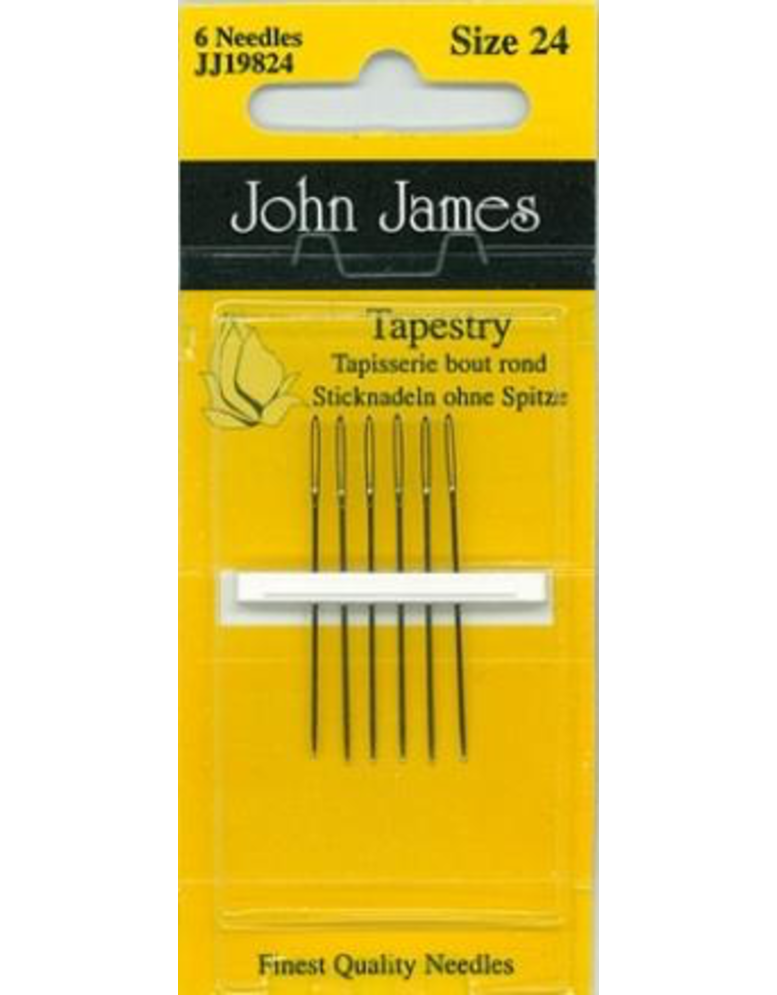 PD John James, Tapestry Needles size 24