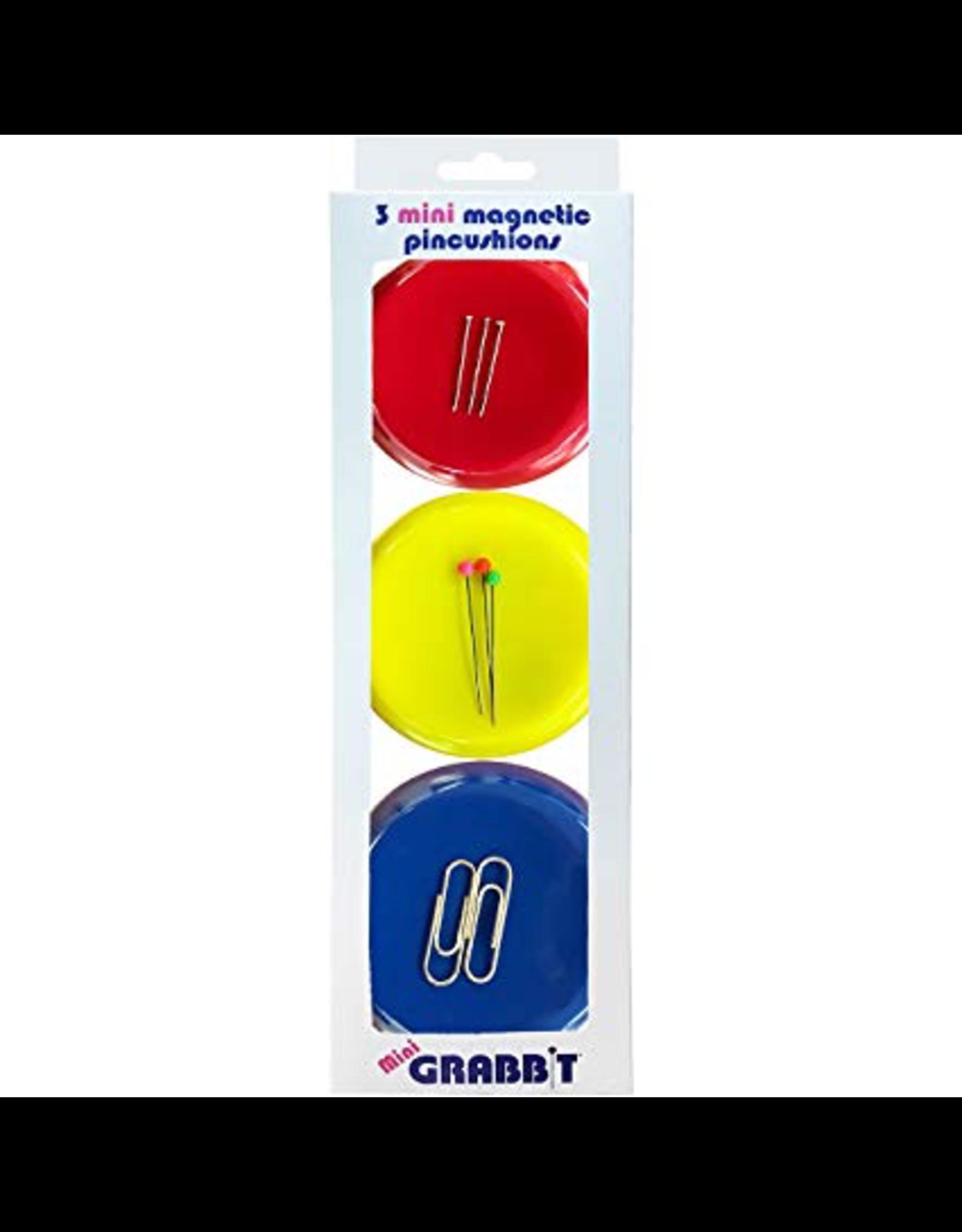 Grabbit Grabbit® Mini Magnetic Pincushions - Set of 3
