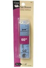 PD Vinyl Tape Measure by Dritz, Color: Blue