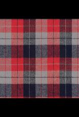 Robert Kaufman Yarn Dyed Cotton Flannel, Durango Flannel in Americana, Fabric Half-Yards SRKF-17141-202