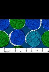 Cotton + Steel ON SALE-Safari, Nest in Blue, Fabric Half-Yards