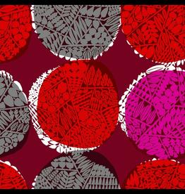 Cotton + Steel ON SALE-Safari, Nest in Red, Fabric Half-Yards