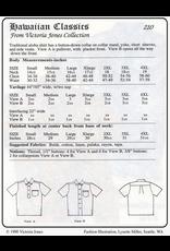 Victoria Jones Collection Hawaiian Classics Men's Shirt Sewing Pattern