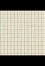 Carolyn Friedlander Harriot Yarn Dyed Woven, Thin Check in Willow, Fabric Half-Yards AFR-18109-39