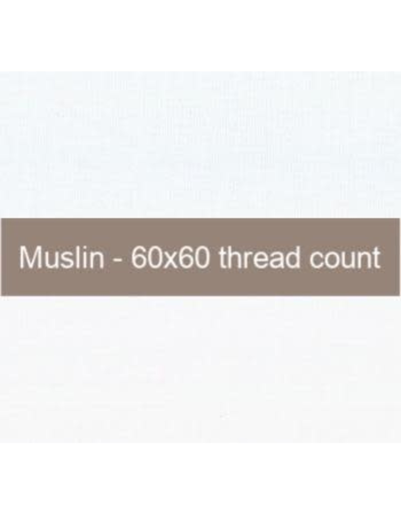Moda Fabric, Muslin Basic in White, 100% Cotton, by the Half-Yard  9946 11