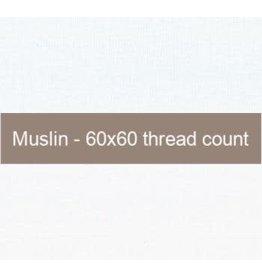 Moda ON ORDER-Fabric, Muslin Basic in White, 100% Cotton, by the Half-Yard  9946 11