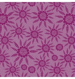 Anna Maria Horner Second Nature, Joy in Garnet, Fabric Half-Yards PWAM010