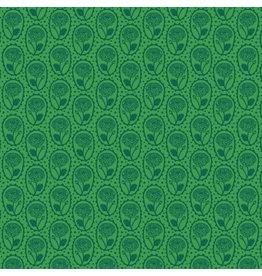 Anna Maria Horner Second Nature, Locket in Kelly, Fabric Half-Yards PWAM007
