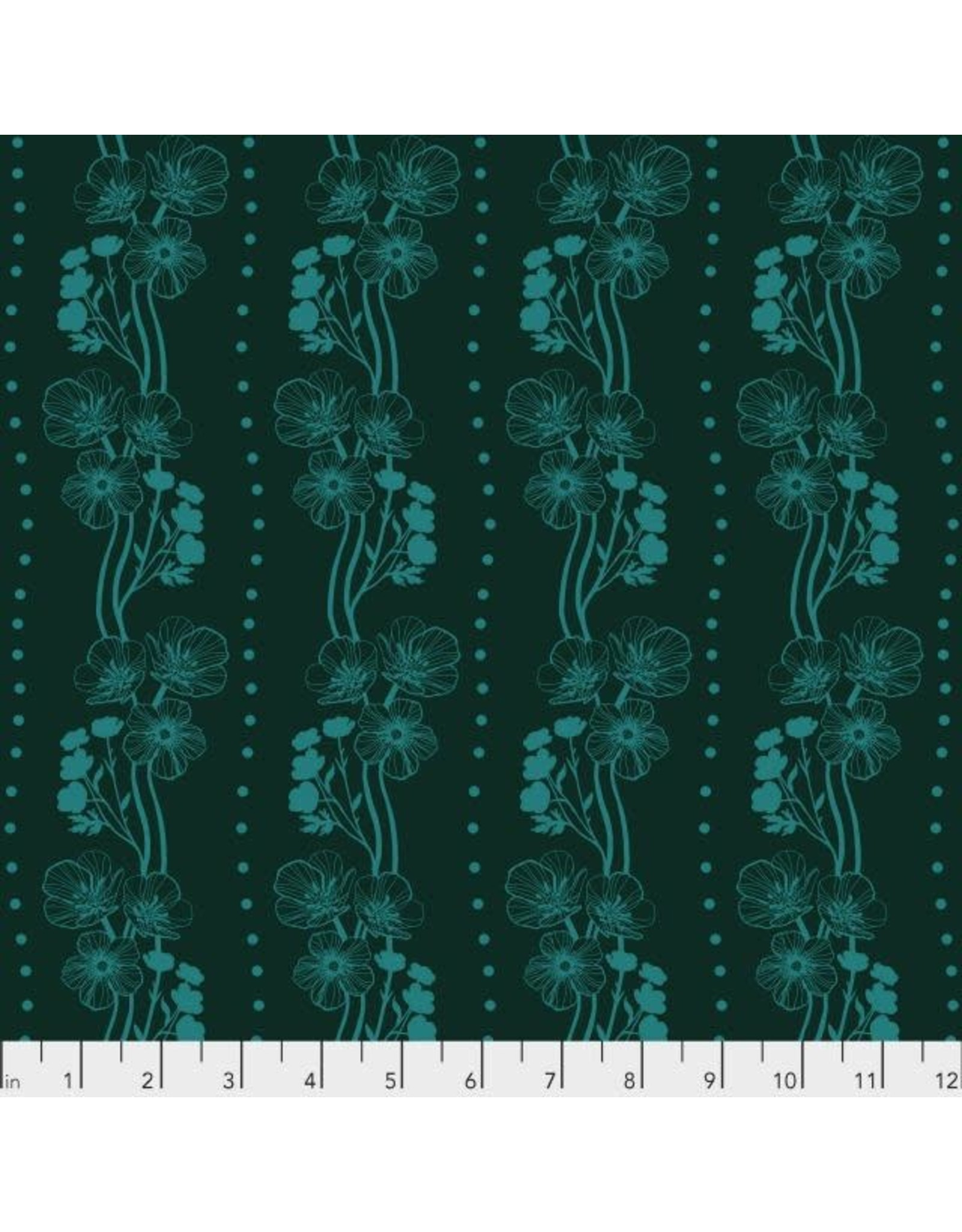PD's Anna Maria Horner Collection Second Nature, Buttercups in Emerald, Dinner Napkin
