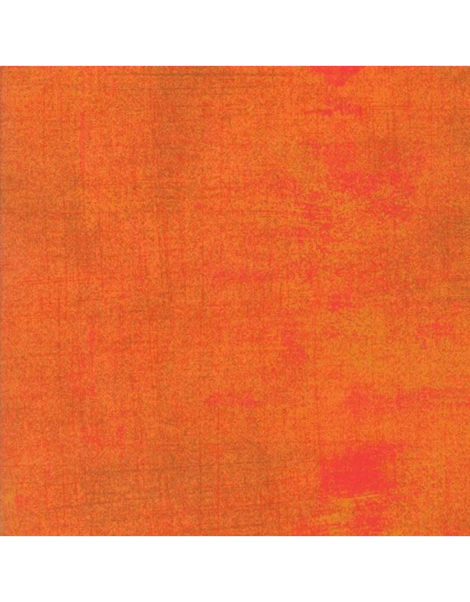 Moda Grunge in Russet Orange, Fabric Half-Yards