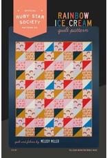 Ruby Star Society for Moda Rainbow Ice Cream Quilt Pattern