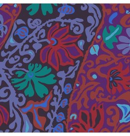 Brandon Mably Kaffe Collective, Bali Brocade in Purple, Fabric Half-Yards  PWBM069
