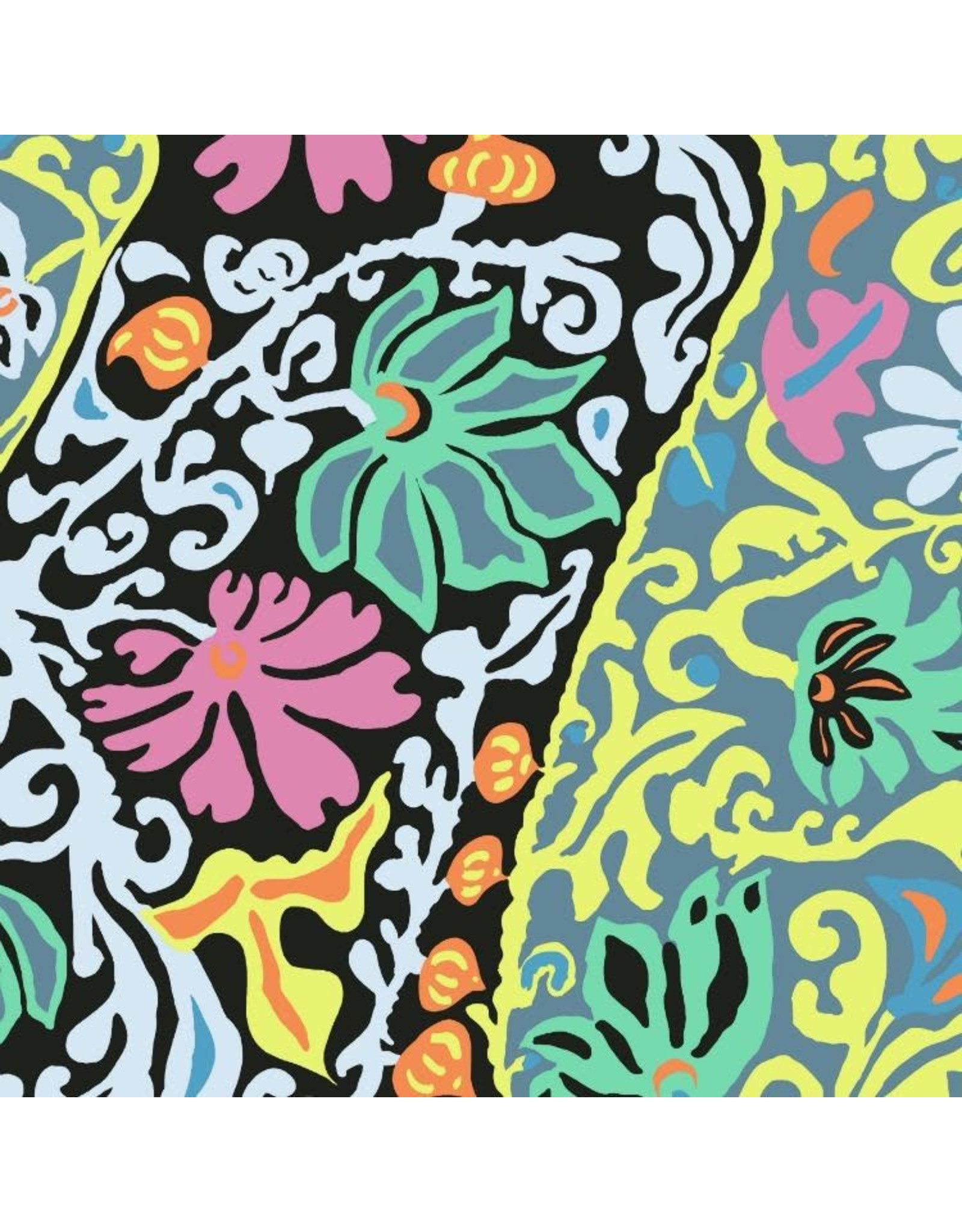 Brandon Mably Kaffe Collective, Bali Brocade in Contrast, Fabric Half-Yards  PWBM069