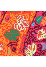 "Brandon Mably Kaffe Collective, Bali Brocade in Red, Fabric Half-Yards  PWBM069 (ONE 30"" PIECE REMAINING)"