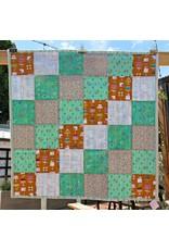 "PD Green Bake Shop Stroller Blanket, 40""x40"""