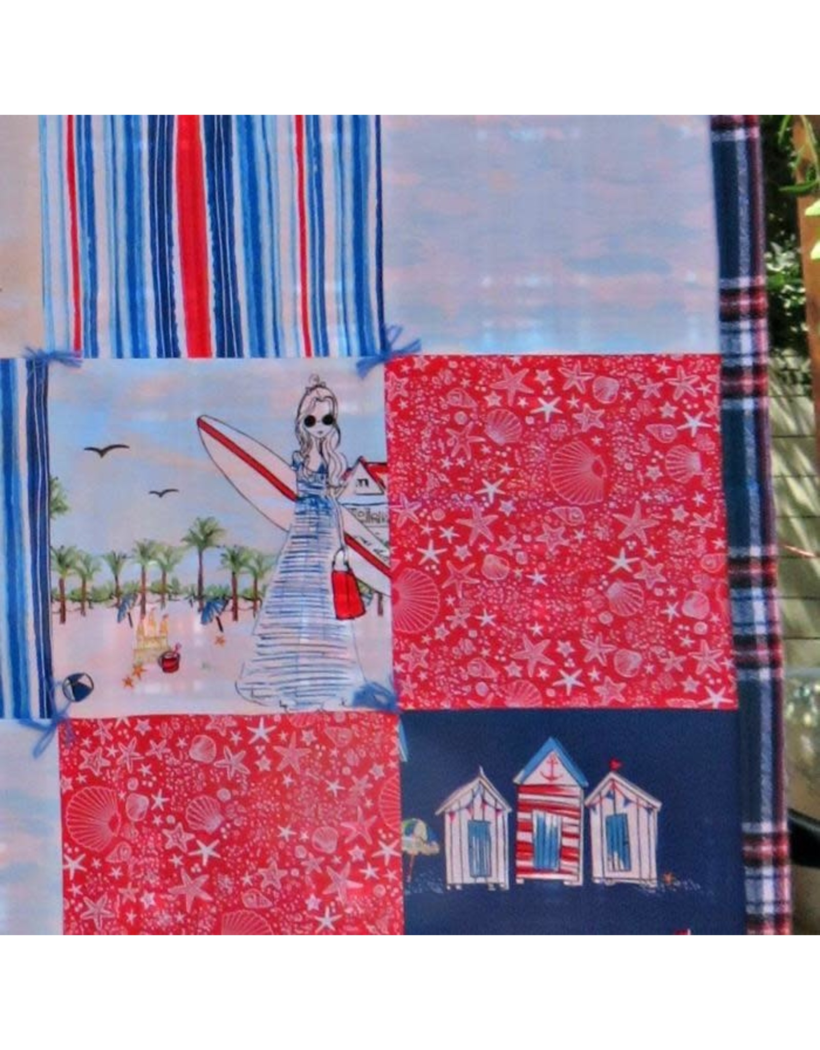 "PD Coronado Beach Stroller Blanket, 40""x40"""