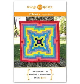 Orange Dot Quilts Echoes Quilt Pattern