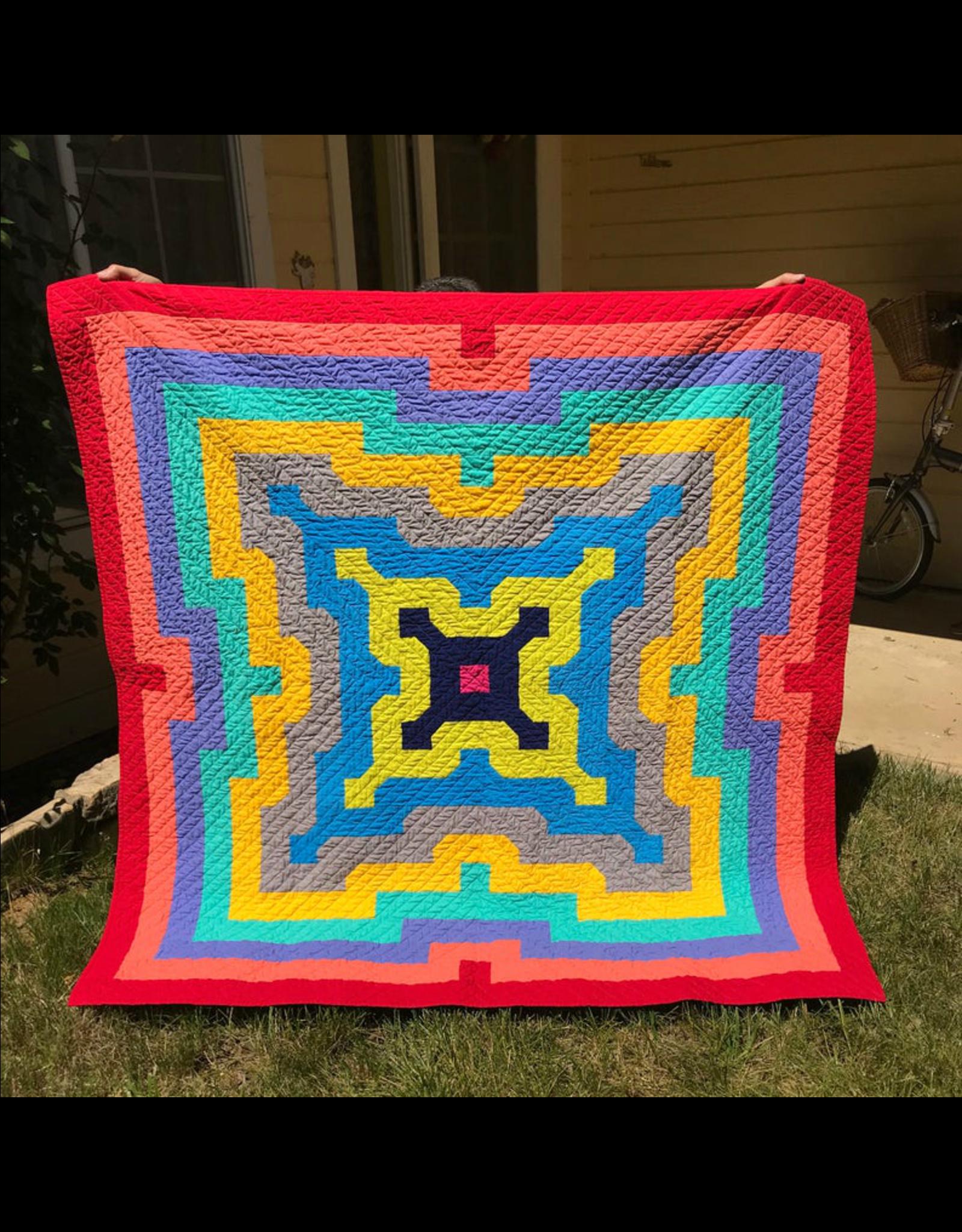 Orange Dot Quilts Echoes Quilt Pattern
