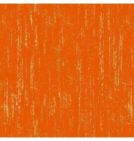 Sarah Watts Ruby Star Society, Brushed Crescent in Fire with Metallic, Fabric Half-Yards RS2005 19M