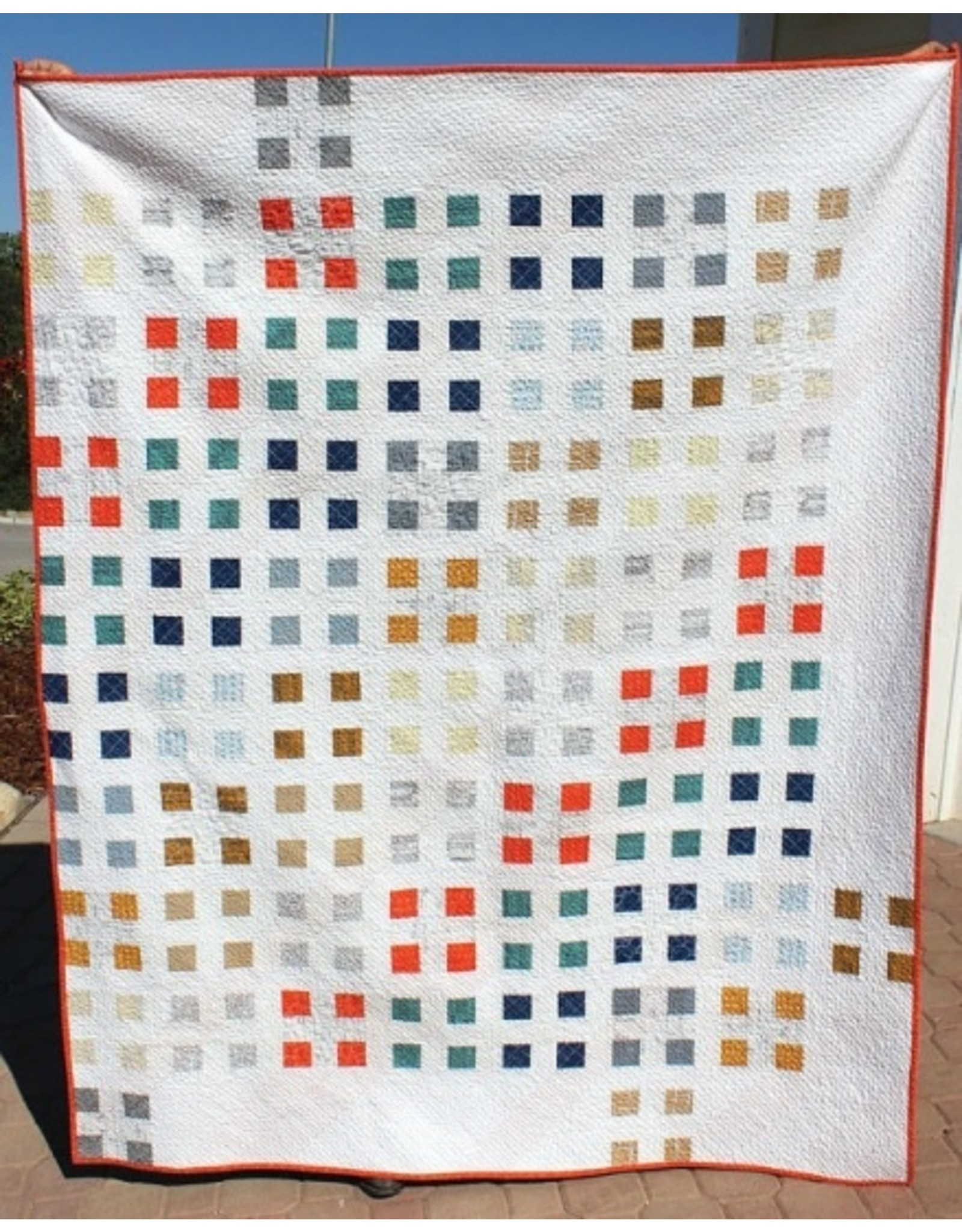 Orange Dot Quilts Patch Nine Quilt Pattern