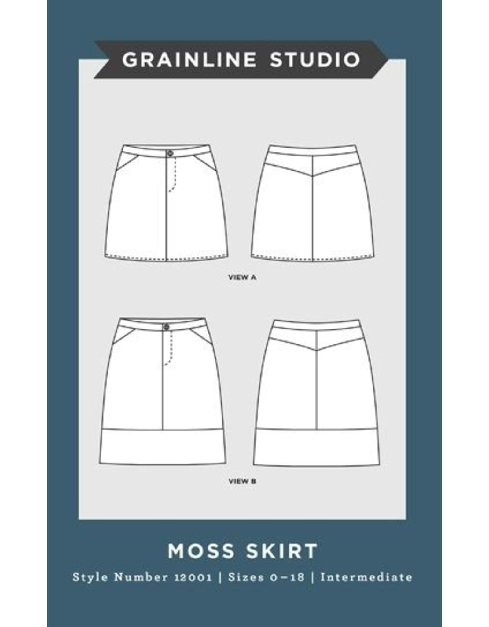 Grainline Studio Moss Skirt Pattern