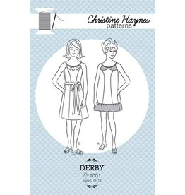 Christine Haynes Patterns ON SALE 50% OFF - Derby Pattern