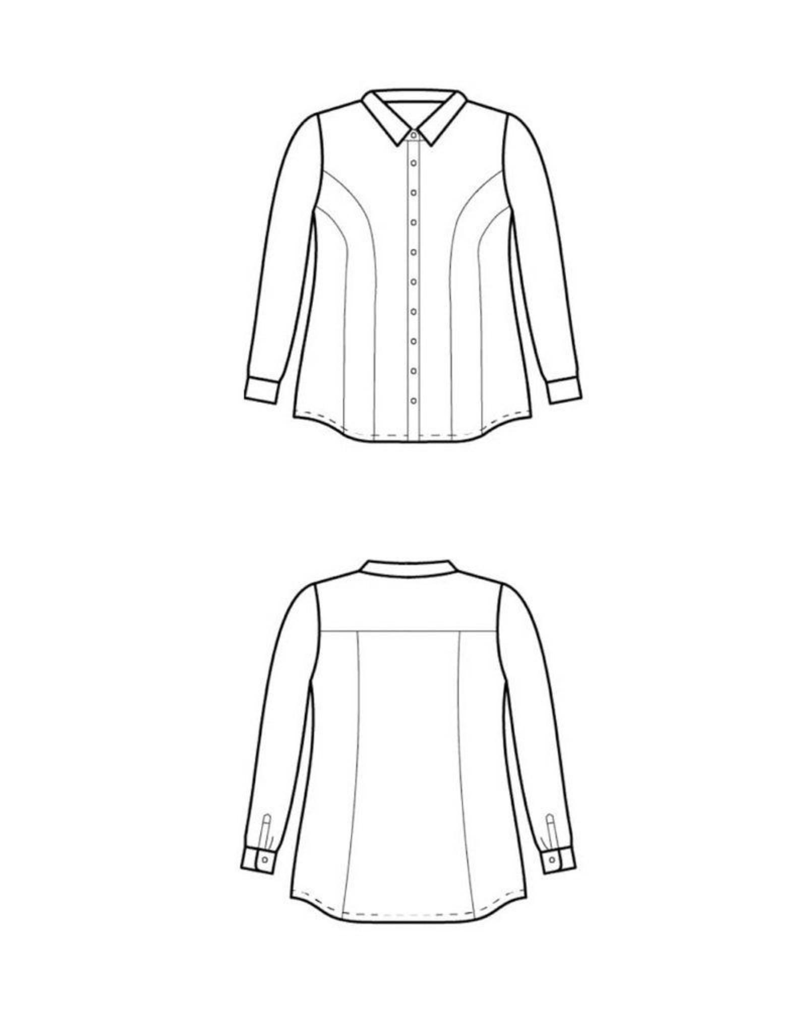 Cashmerette Harrison Shirt  Pattern