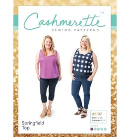 Cashmerette Springfield Top Pattern