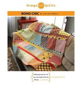 Orange Dot Quilts Boho Chic Quilt Pattern