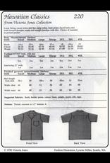 Victoria Jones Collection Victoria Jones Collection, Hawaiian Classics Men's Shirt 220 Sewing Pattern