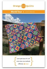 Orange Dot Quilts Orange Dot Quilt's World Tour Pattern