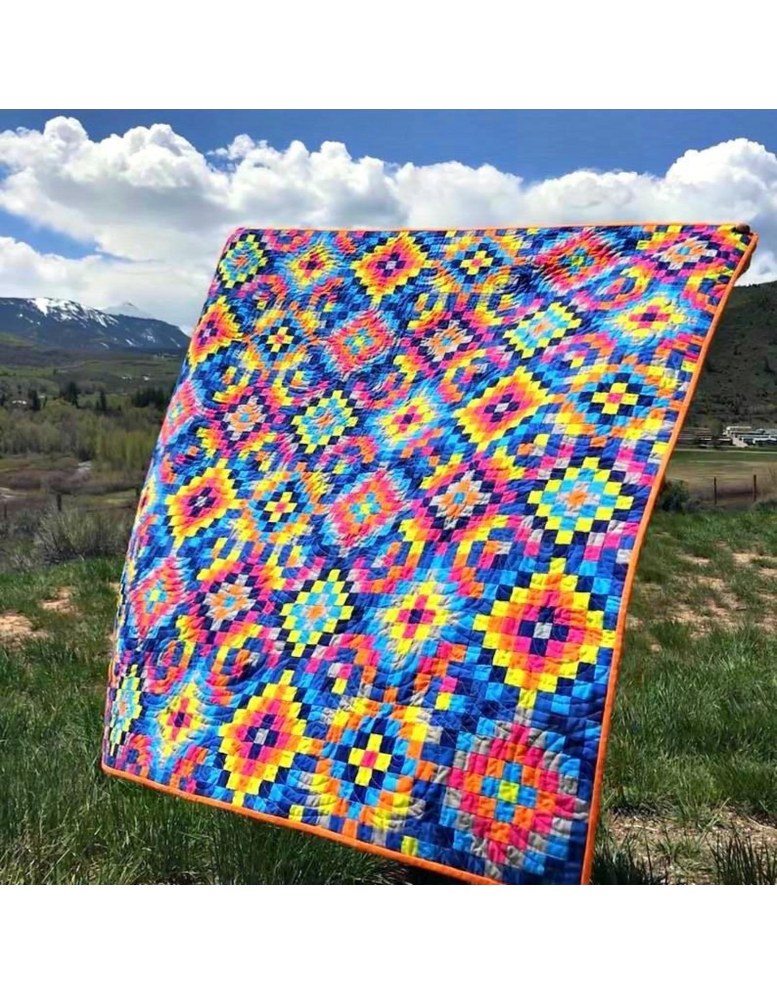 Orange Dot Quilts World Tour Quilt Pattern
