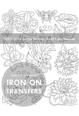 Sublime Stitching Embroidery Iron-On Transfers, Little Blooms