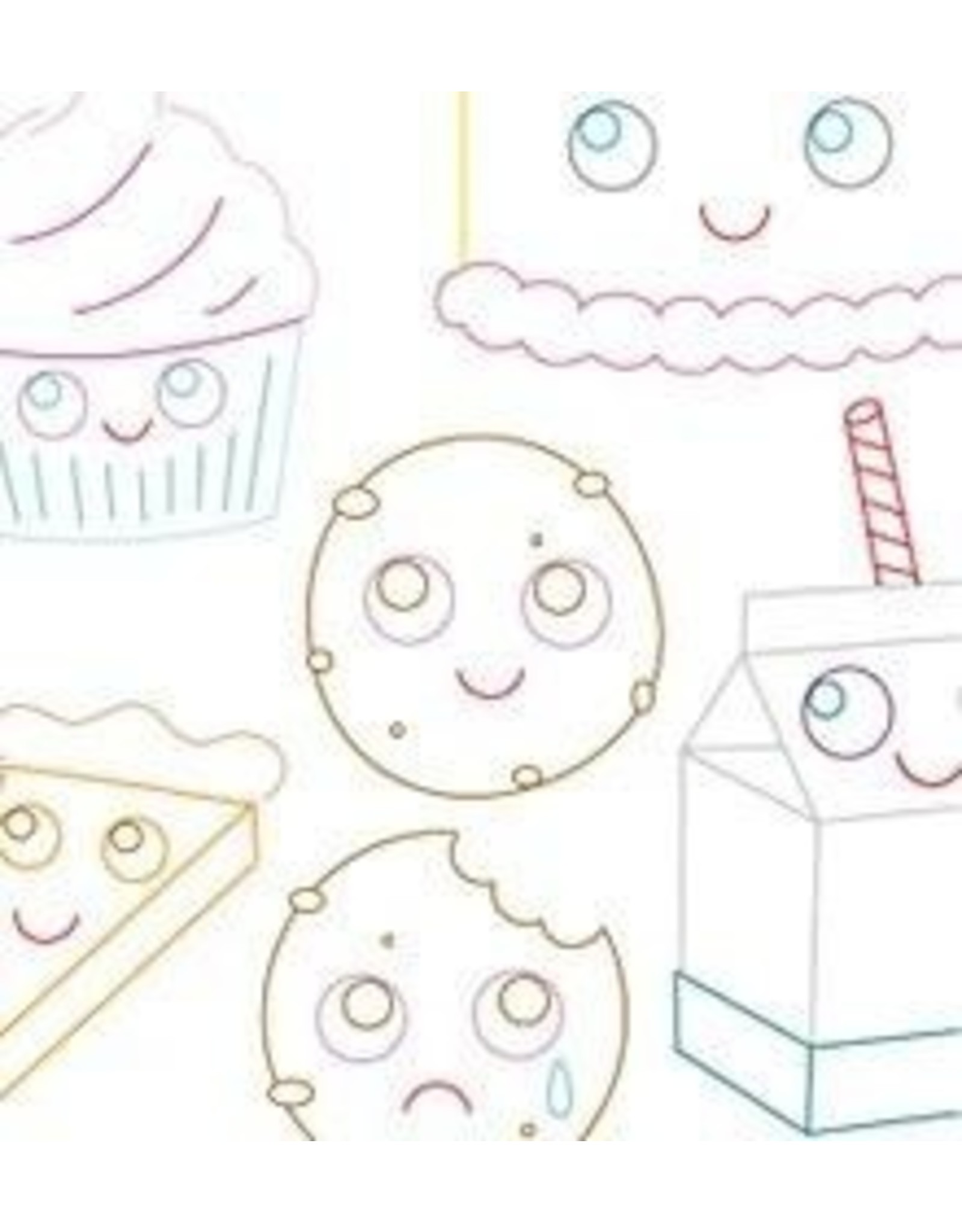 Sublime Stitching Embroidery Iron-On Transfers, Sweet Treats