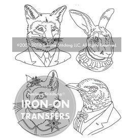 Sublime Stitching Embroidery Iron-On Transfers, Ryan Berkley Artwork