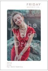 Friday Pattern Company Lucida Dress Pattern