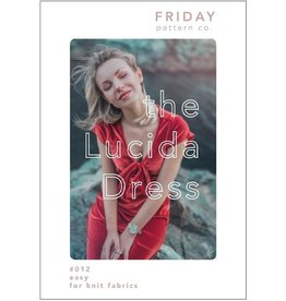 Friday Pattern Company Friday Pattern Co's Lucida Dress Pattern