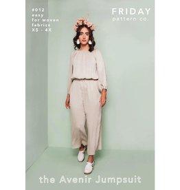 Friday Pattern Company Friday Pattern Co's Avenir Jumpsuit Pattern