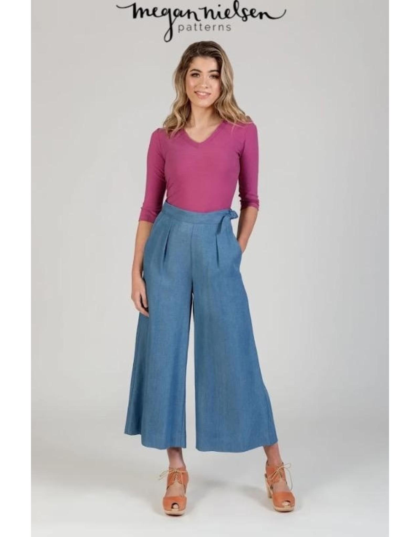 Megan Nielsen Megan Nielsen's Flint Pants & Shorts, Paper Pattern MN2210