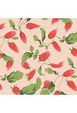 Martha Negley Veggies, Radishes in Bright, Fabric Half-Yards  PWMN004