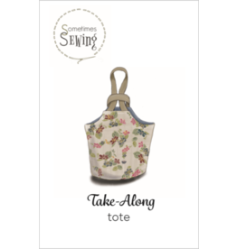 Sometimes Sewing Take-Along Tote Pattern in 2 Sizes