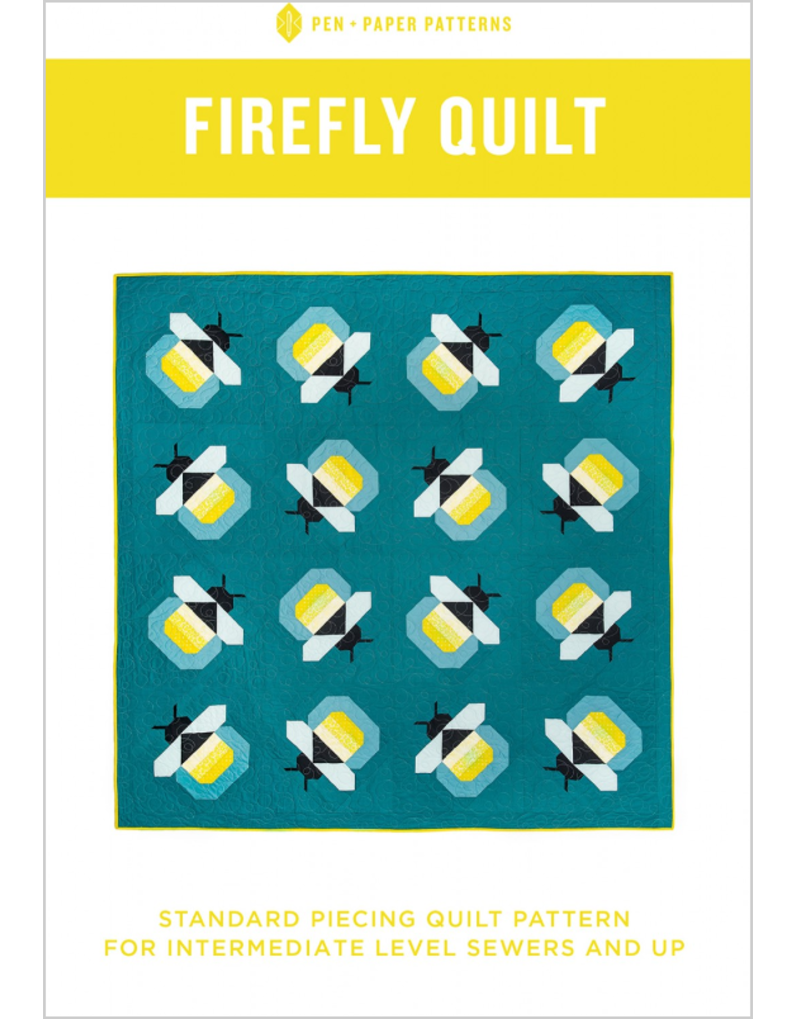 Pen and Paper Patterns Pen and Paper's Firefly Quilt Pattern