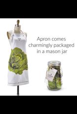 """Moda Home Farm to Table, Apron in a Mason Jar """"Lettuce Eat"""""""